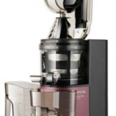 Storcator de fructe si legume Taurus Liquajuice Pro, 200 W, 43 RPM, 1 L, 1 Viteza, Functie Reverse (Rosu/Negru)