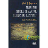 Meditatii. Mudre si mantre. Tehnici de respirat - Vlad T. Popescu - Carte ezoterism