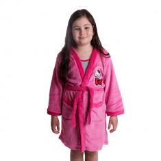 Halat de baie fete Hello Kitty roz - Prosop baie copii