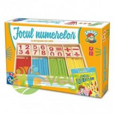 Jocul numerelor din lemn