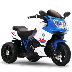 Motocicleta electrica copii Racer 6187 Blue - Masinuta electrica copii