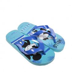 Papuci copii Disney albastri