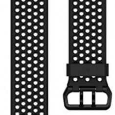 Curea de schimb Fitbit FB164SBBKL, pentru Fitbit Ionic, Marimea L (Negru)