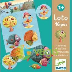 Loto cu anotimpuri Djeco - Bilet Loterie Numismatica