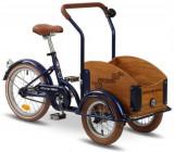 Bicicleta Pegas Mini Cargo 1S (Albastru)
