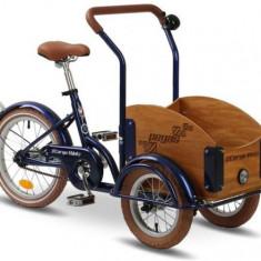 Bicicleta Pegas Mini Cargo 1S (Albastru) - Bicicleta copii