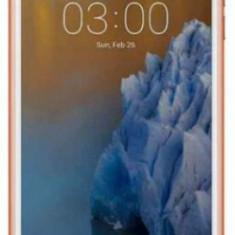 Telefon Mobil Nokia 3, Procesor Quad Core 1.3 GHz, IPS LCD 5.0inch, 2GB RAM, 16GB Flash, 8MP, Wi-Fi, 4G, Dual Sim, Android (Alb/Auriu) - Telefon Nokia