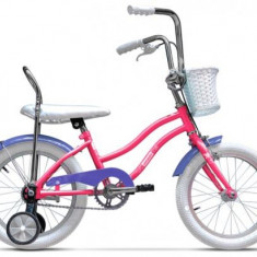 Bicicleta Pegas Mezin 1S, Cadru 9inch, Roti 16inch (Roz) - Bicicleta copii