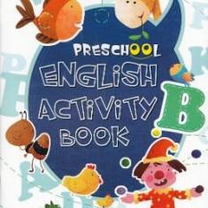 Preschool English Activity Book - Carte educativa