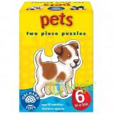 Pets. Set 6 Puzzle (2 piese)
