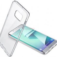 Protectie spate Cellularline Bi-Component CLEARDUOGALS7ET pentru Samsung Galaxy S7 Edge (Transparent) - Husa Telefon