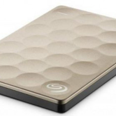 HDD Extern Seagate Backup Plus Ultra Slim, 2.5 inch, 1TB, USB 3.0 (Auriu)