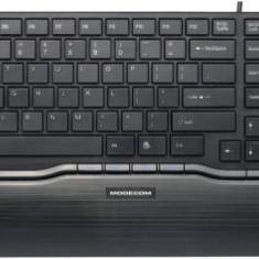 Tastatura Modecom MC-9005, multimedia, USB (Negru) - Tastatura PC