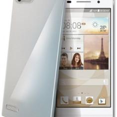 Husa Protectie Spate Celly GELSKIN430 pentru Huawei Ascend G6 (Transparent) - Husa Telefon