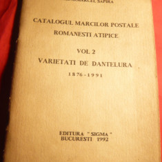 Marcel Sapira -Catalogul Marcilor Postale Romanesti -Atipice (erori) vol.2- 1992