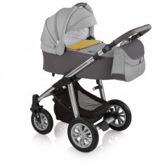 Carucior 2 in 1Baby Design Dotty 07 Grey 2017 - Carucior copii 2 in 1