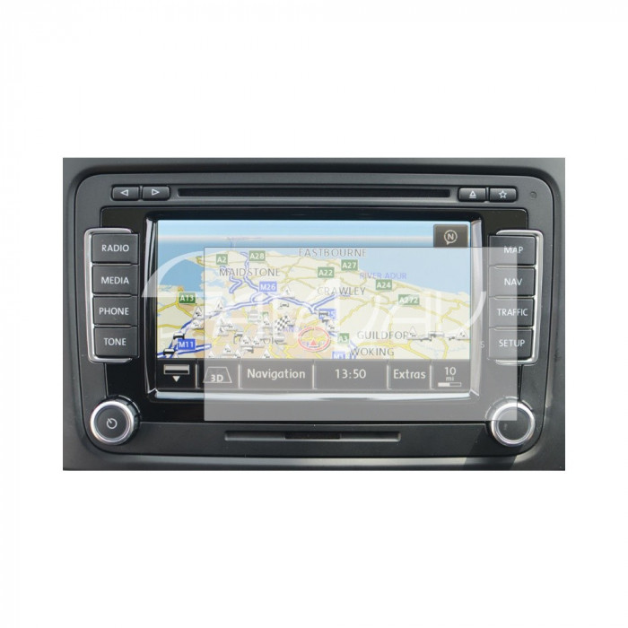Folie de protectie Clasic Smart Protection Navigatie Volkswagen RNS510 foto mare