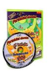 CD Portofoliul elevului - Sa invatam in lumea lui Dino: Romana. Educatie plastica