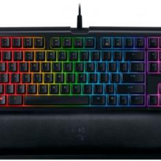 Tastatura Gaming Razer Blackwidow Tournament Edition Chroma V2, Razer Orange Switch (Negru) - Tastatura PC