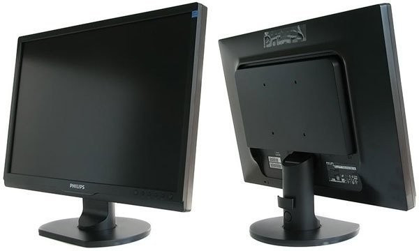 Monitor 22 inch LCD, Philips 220SW, Black foto mare