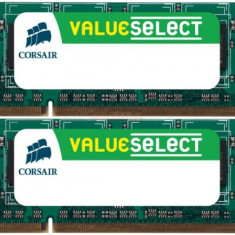 Memorii Laptop Corsair So-DIMM Value Select DDR2, 2x4GB, 800MHz - Memorie RAM laptop