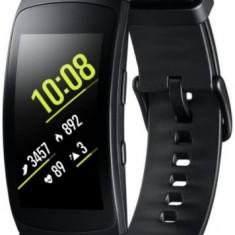 Bratara Fitness Samsung Gear Fit 2 Pro, Marimea L, 1.5inch OLED (Negru)