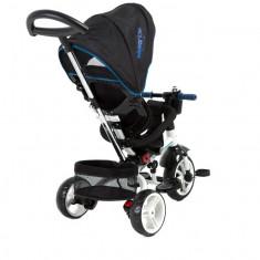 Tricicleta 3 in 1 Xammy BlackBlue - Tricicleta copii
