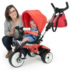 Tricicleta pentru copii Injusa City Max Red - Tricicleta copii