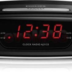 Radio cu ceas Philips AJ3123 (Negru)