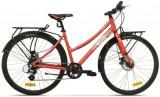 Bicicleta Pegas Hoinar2 8S, Cadru 18inch, Roti 28inch, 8 Viteze (Roz)