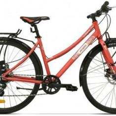 Bicicleta Pegas Hoinar2 8S, Cadru 18inch, Roti 28inch, 8 Viteze (Roz) - Bicicleta Dama