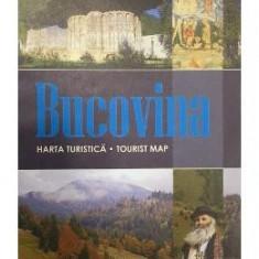 Bucovina - Harta turistica