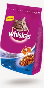 Whiskas Dry 300g Ton&Ficat foto
