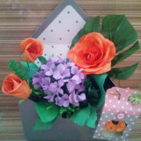 Aranjament Flori in plic