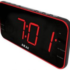 Radio cu ceas Akai ACR-3899 (Negru) - Aparat radio