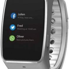 Smartwatch MyKronoz ZeWatch 4, LCD Capacitive touchscreen, Bluetooth (Argintiu)