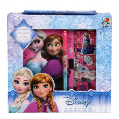 Set jurnal Frozen Anna & Elsa roz