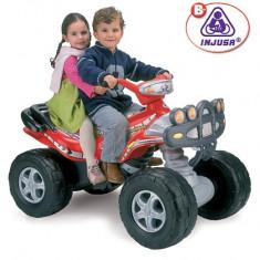 ATV electric 2 locuri Injusa Mega Cyclops 12V - Masinuta electrica copii