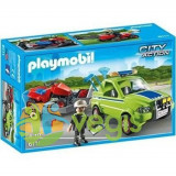Playmobil - Om cu masina de tuns iarba 4-10 ani