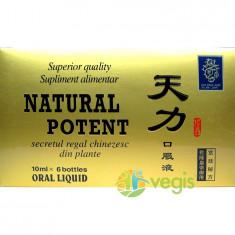 Natural Potent 6x10ml - Stimulente sexuale