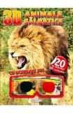 3D Animale salbatice. Cu ochelari 3D, Lisa Regan