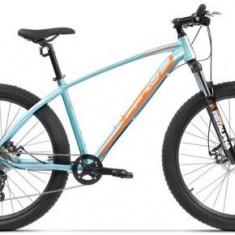 Bicicleta Pegas Drumuri Grele 17, Cadru 17inch, Roti 27.5inch, 10 Viteze (Bleu) - Mountain Bike
