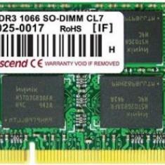 Memorie Laptop Transcend TS4GAP1066S MAC DDR3, 1x4GB, 1066MHz, CL7 - Memorie RAM laptop