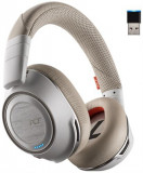 Casca Bluetooth Plantronics Voyager 8200 UC (Alb)