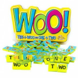 Joc educativ cu litere si numere Woo - Fat Brain Toys 6 ani+