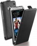 Husa Cellularline Flap Flapessenonebk pentru HTC One (Neagra)