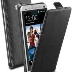Husa Cellularline Flap Flapessenonebk pentru HTC One (Neagra) - Husa Telefon
