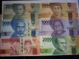 Indonezia 1000,2000,5000,10000,20000,50000,100000 Rupiah 2016 UNC