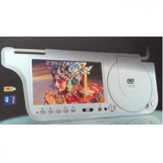 DVD LCD 7 inch incorporat in parasolar dreapta ( pasager) - DVD Player auto
