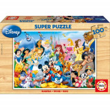 Puzzle Minunata Lume Disney 100 Piese, Educa